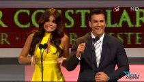 David Zepeda @davidzepeda1 y Marisol González presentan premio al Mejor Actor Co-Estelar en Premios TVYN 2013