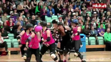 Anarchy III: London Rollergirls vs Windy City Rollers (2nd Half)