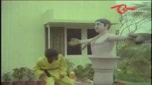 Hilarious Comedy Scene - Raja Babu Practicing Karate