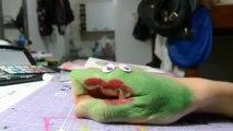 Mãos - mão comilona