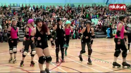 Anarchy III: London Rollergirls vs Windy City Rollers (1st Half)