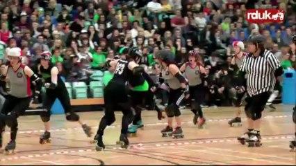 Anarchy III: Berlin Bombshells vs Auld Reekie Rollergirls (2nd Half)