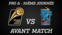 Avant-Match - J30 - Réception du Paris-Levallois