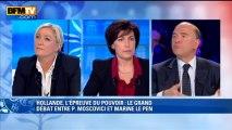 """Pierre Moscovici à Marine Le Pen: """"Vous jouez sur les peurs des Français"""" - 29/04"""