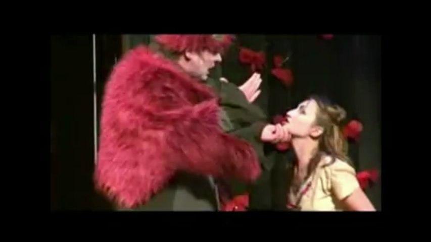 """Réglage d'escrime de théâtre. """"Roméo and Juliet"""" Shakespeare"""