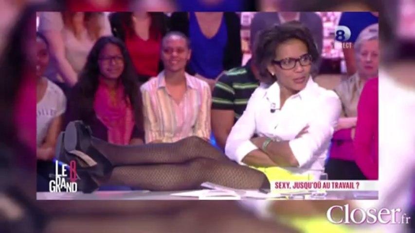 Le Zapping  de Closer.fr : Audrey Pulvar montre ses jambes sexy au Grand 8