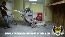 Terrco 3100 - Grinding & Polishing Concrete   Floor Prep