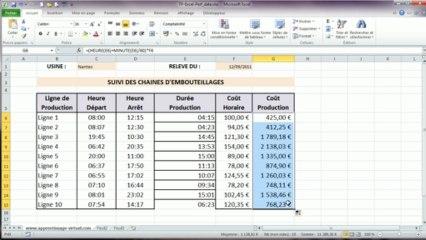 Correction du tp Excel numéro trois