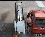 Des voleurs d'essences pas très malins
