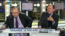 Hollande : la paix avec les patrons ? dans Les décodeurs de l'éco - 29 avril 5/5