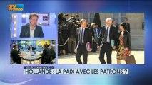Hollande : la paix avec les patrons ? dans Les décodeurs de l'éco - 29 avril 3/5
