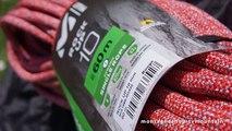 Corde Millet Rock Up 10 millimètres Low Impact 60 mètres escalade