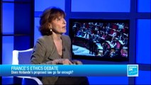 THE INTERVIEW - Noëlle Lenoir, Ethics compliance officer at the French National Assembly