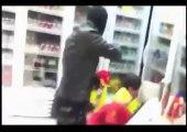 Des voleurs filment leur braquage