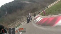Circuit d'ALES Roulage avec DDE 34 le mercredi 10 avril 2013 Session 2 aprèm  Baptème Moto
