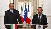 Point de presse avec M. Enrico LETTA, président du Conseil des ministres de la République italienne