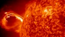 Massive solar eruption captured in NASA time-lapse video