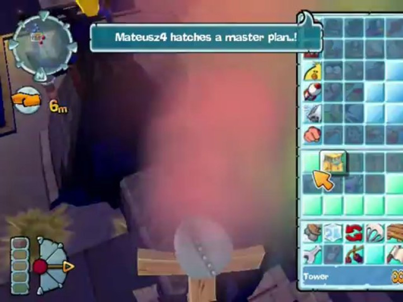 Worms Forts: Under Siege - Mariusz vs. Mateusz Teams