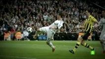 Cristiano Ronaldo he was injured against Borussia
