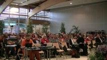 Congrès Fep CFDT Bayonne Ouverture du congrès de Bayonne avec une belle musique basque