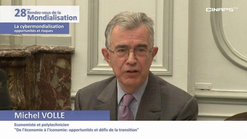 Centre d'Analyse Stratégique - La cybermondialisation - Opportunités et risques - Partie 2-4 - Michel VOLLE