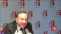 Pierre Gattaz, candidat à la présidence du Medef, président du Groupe des fédérations industrielles (GPI), président de la société Radiall