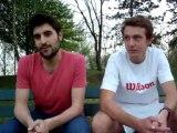 1ere journée des critériums 2013: Arnaud et Max