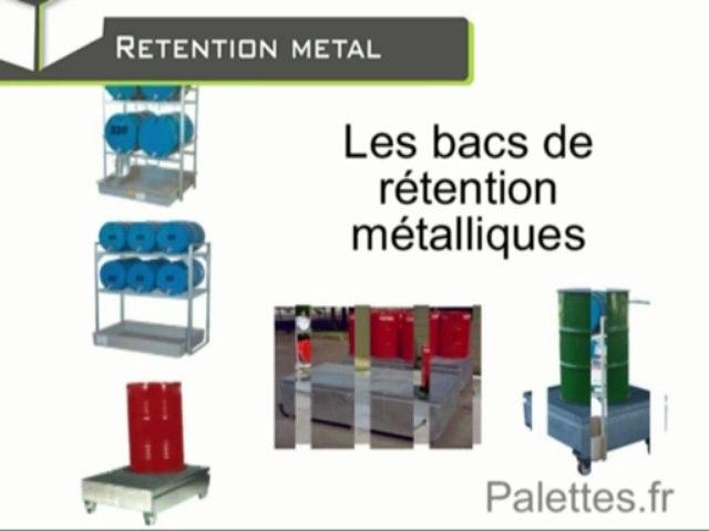 La rétention métallique ou l'environnement parfaitement protégé / Europ Stocks Services - Palettes.fr