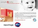 Reportage d'EFM sur people and baby : acteur majeur des crèches d'entreprise en France