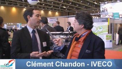 Interview de Clément Chandon (IVECO) par JC Durousseaud