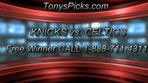Boston Celtics versus New York Knicks Pick Prediction NBA Playoffs Game 6 Lines Odds Preview 5-3-2013