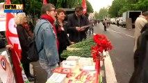 Les militants du Front de gauche préparent la manifestation du 5 mai - 04/05