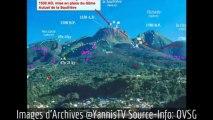 2013/08/29 14h43 Secousse SISMIQUE d'Origine VOLCANIQUE la Soufrière GUADELOUPE Magnitude Inférieure à 3.0