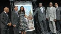 Gabrielle Union Discusses Historic Stamp