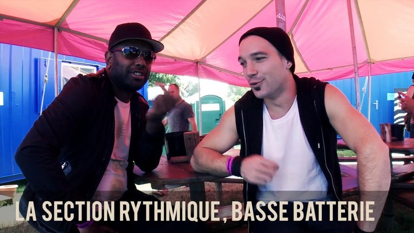 BABYLON CIRCUS NEVER STOP : La section rythmique