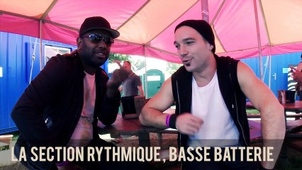 BABYLON CIRCUS NEVER STOP : La section rythmique