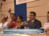 mersin akademik odalar birliği toplantısı- MSBC KANAL 2000