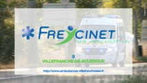 Ambulances Villefranchoises Freycinet, société d'ambulances et taxis à Villefranche-de-Rouergue