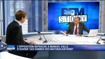 """Guillaume Larrivé sur BFMTV : """"Avant les élections municipales, les socialistes ont peur du vote populaire et cherchent un vote communautaire."""""""