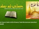 Qari Shakir Qasmi, Salim Ud Din Shamsi, Fateh Mohammad Jalandhari - Surah nooh
