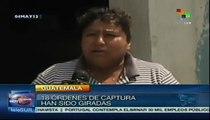 Guatemaltecos se oponen al estado de sitio