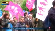 Mariage homo: un millier de personnes manifestent à Strasbourg - 04/05