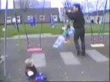 Twirl Swing At Forfar Park