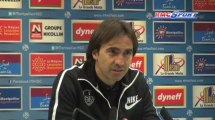Ligue 1 / Les réactions de R. Girard et C. Martins après Montpellier - Brest - 04/05