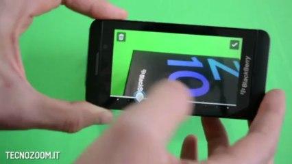 Blackberry Z10 recensione in italiano