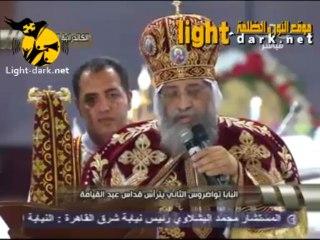 Le Peuple Copte acclame Cheikh El Azhar, et ignore Morsi