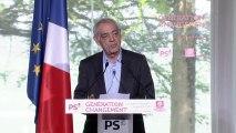 Génération changement : le discours d'Henri Emmanuelli