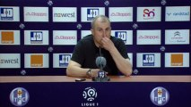 Conférence de presse Toulouse FC - LOSC Lille : Alain  CASANOVA (TFC) - Rudi GARCIA (LOSC) - saison 2012/2013