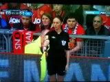 Be Careful! Sian Massey scolds Robin Van Persie & Fernando Torres