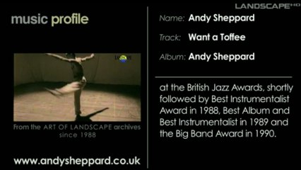 Andy Sheppard Music Profile